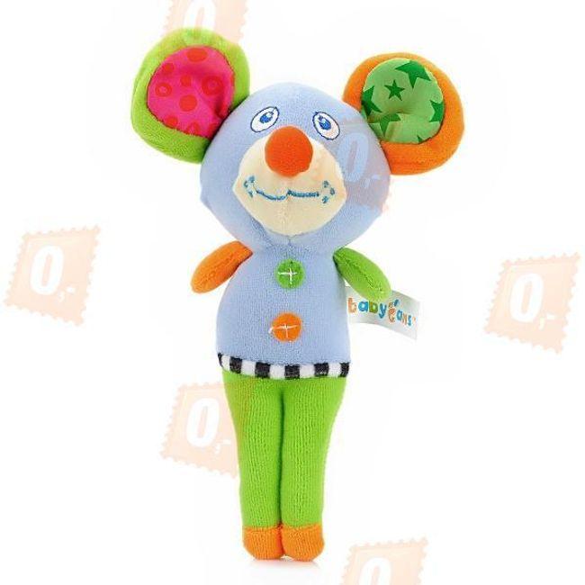 Dětská barevná hračka - myš 1