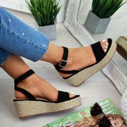 Damskie sandały na koturnie Lorie