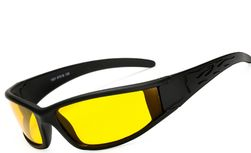 Éjszakai látás szemüveg fekete kerettel