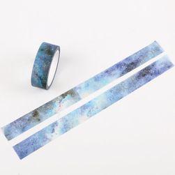 Washi pásky s vesmírným motivem - 7 variant