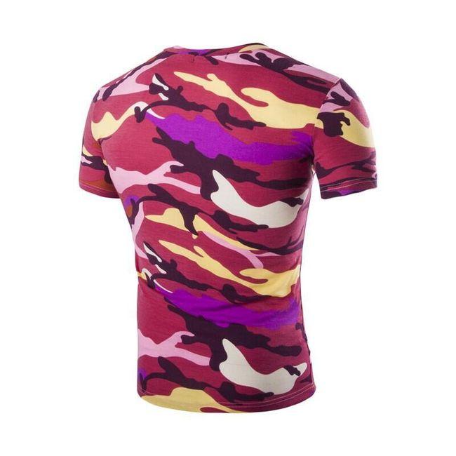 Férfi katonai póló - 5 változat