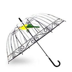 Deštník s motivem ptáčka
