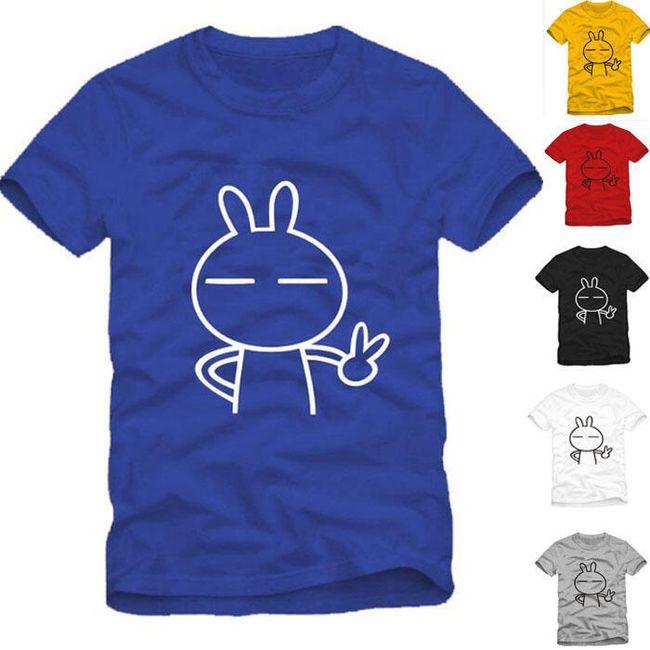 Unisex  tričko  s motivem králíka 1
