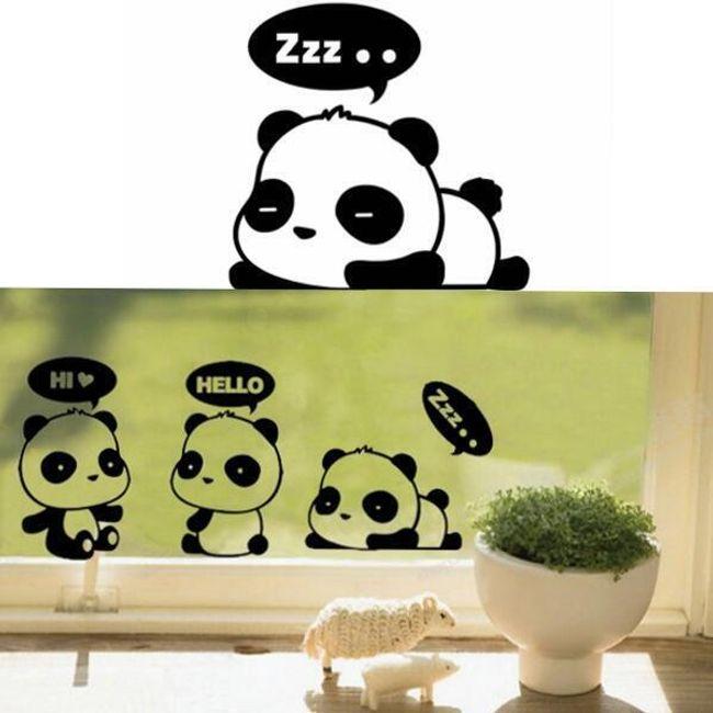 3 levonó falra - panda 1