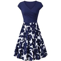 Damska sukienka z krótkim rękawem Reese