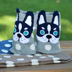 Veselé ponožky s pejsky - 5 variant