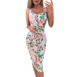 Дамска рокля без ръкави Lavern