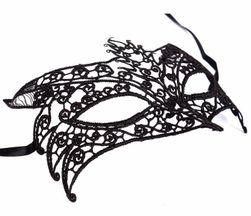 Mască carnaval cu dantelă pentru femei - diverse variante
