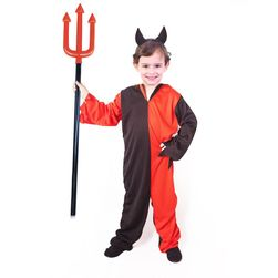 Costum pentru copii devil cu frizură (m) e-cover RZ_206502