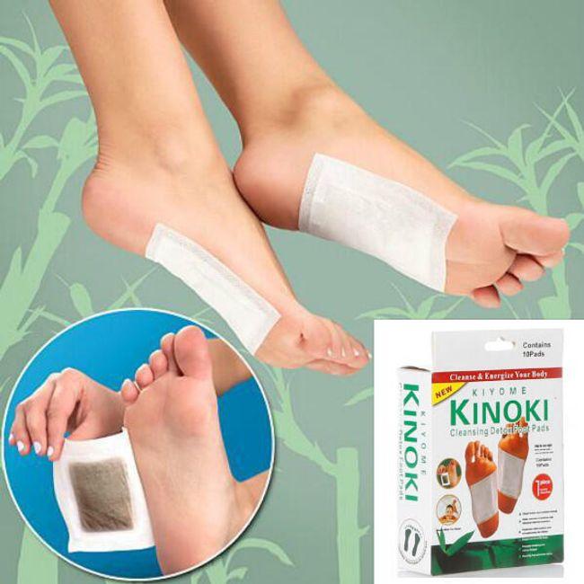10 komada detoksikacijskih flastera za stopala 1