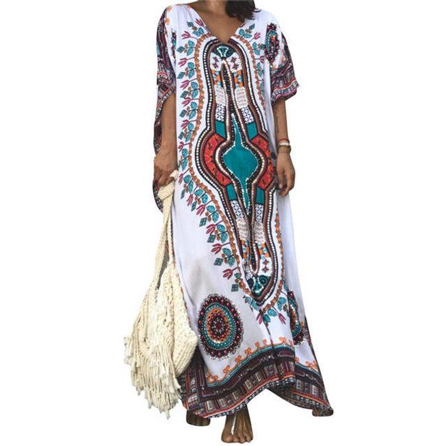 Prozračna haljina sa motivima 1