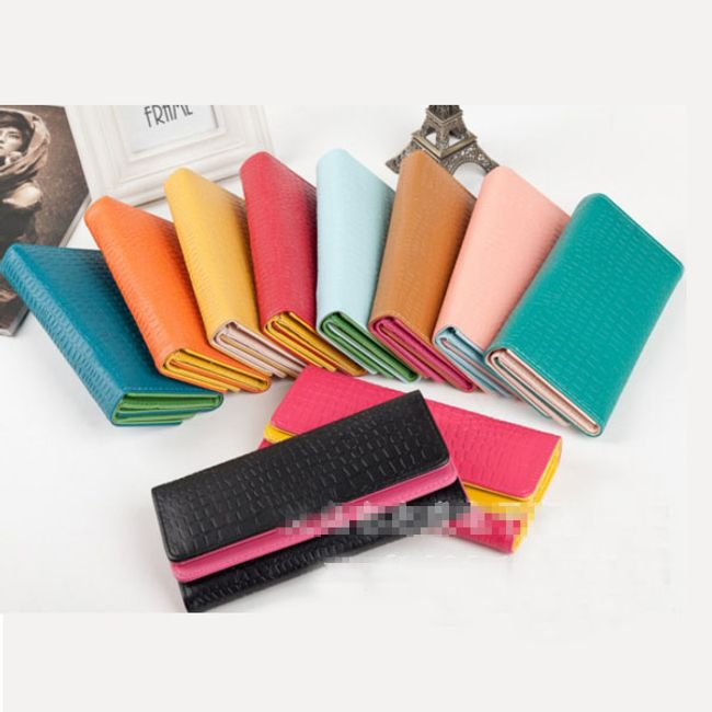 Dámská peněženka ve více barevných kombinacích 1