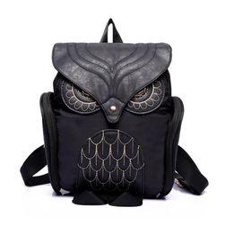 Moderan ženski ruksak sa motivom sove - 4 boje