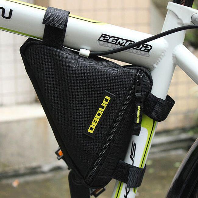 Torba ispod okvira bicikla - crna boja 1