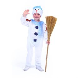 Costum om de zăpadă cu pălărie pentru copii, (S) RZ_207790