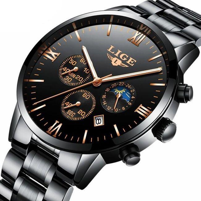 Pánské kovové hodinky 1