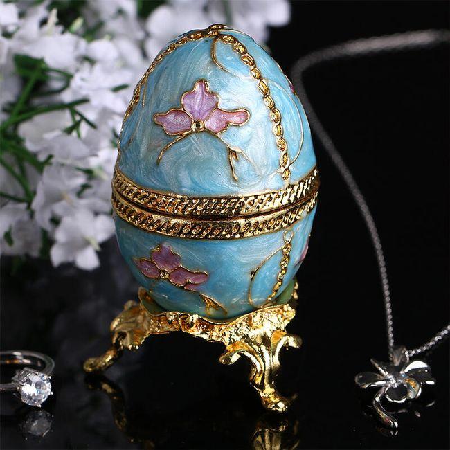 Imitace známého vajíčka - šperkovnice 1