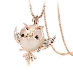 Dámský náhrdelník s přívěskem sovičky
