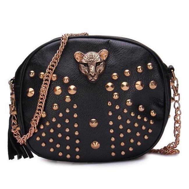 Женская сумка с леопардом 1
