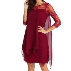 Дамска рокля с дълъг ръкав Nynette