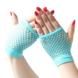 Damskie rękawiczki kabaretki Dina