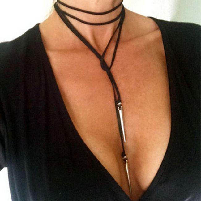 Ogrlica za globok dekolte 1