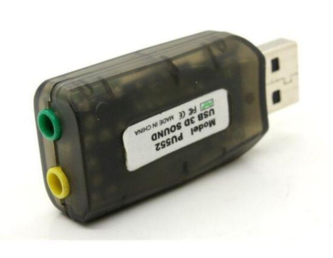 USB külső hangkártya 5.1 1