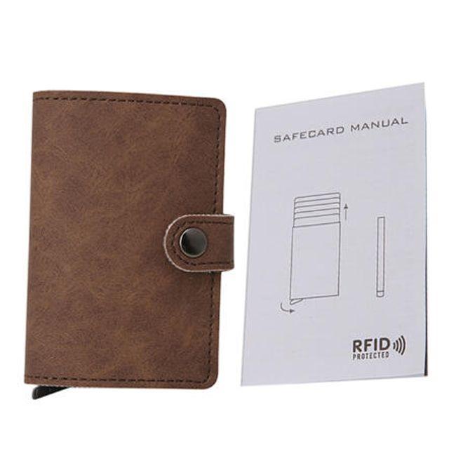 Egyszerű férfi pénztárca - 4 szín