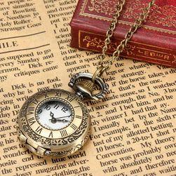 Vintage přívěsek v podobě hodin