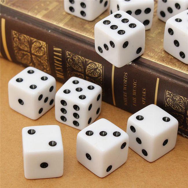Set igralnih kock - 10 kosov 1