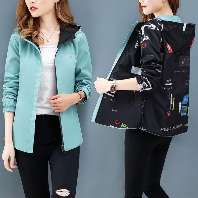 Női kétoldalas kabát Alba