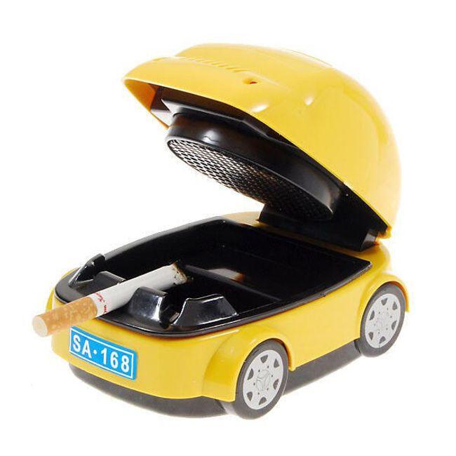 Popelník ve tvaru auta s pohlcovačem dýmu 1