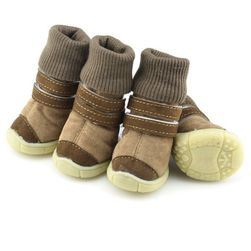 Непромокаемые ботинки для домашних питомцев