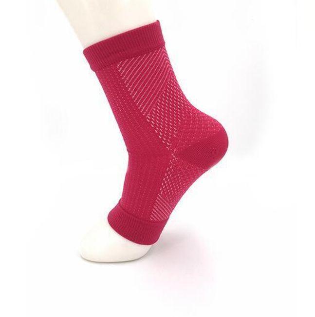 Kompresivne čarape sa otvorenim špicem - razne boje 1
