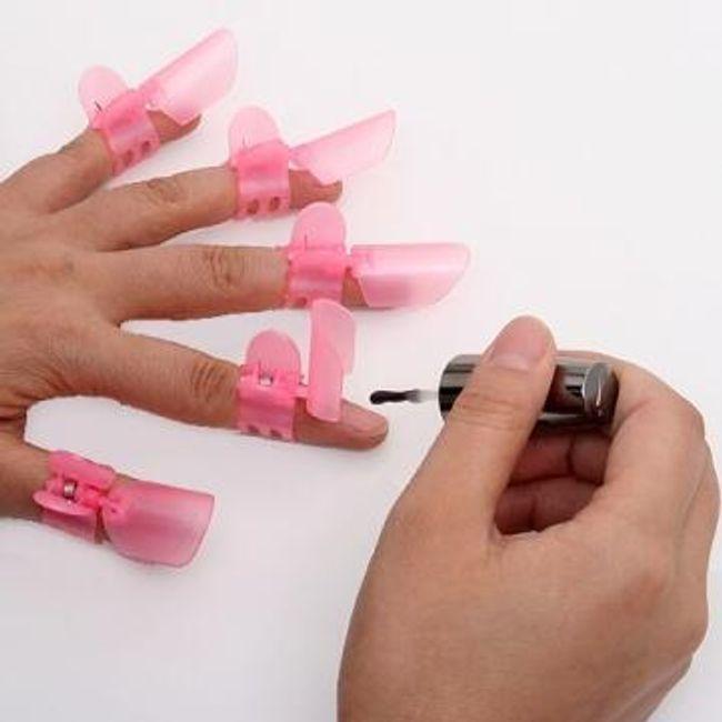 Chránítka čerstvě nalakovaných nehtů - 10 ks 1