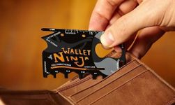 Ocelová multifunkční karta Wallet Ninja 18v1 PD_1537386