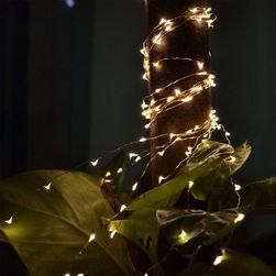 Lanț decorativ cu LED - 4 culori