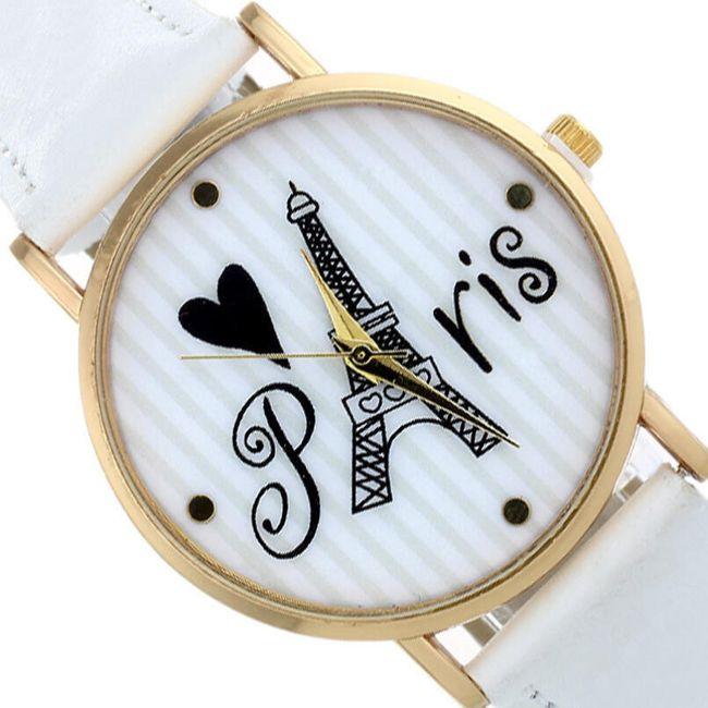 Náramkové hodinky pro milovnice Paříže 1