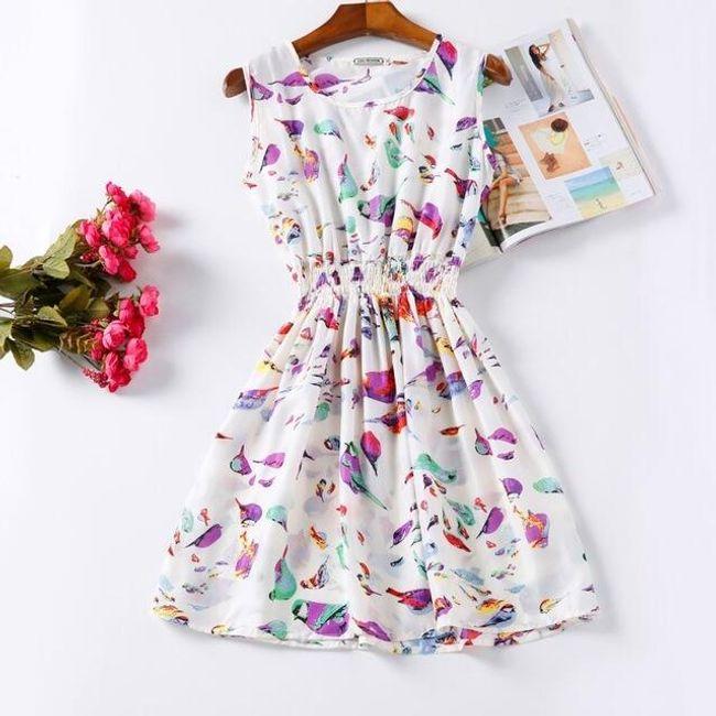 Rozmanité letní šaty - Vzor: 4 - Velikost: 1 1
