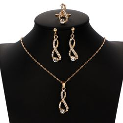 Sada šperkov s čírymi kamienkami