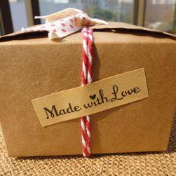 Декоративни стикери - MADE WITH LOVE