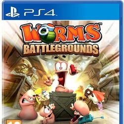 Игра за PS4 Worms Battlegrounds