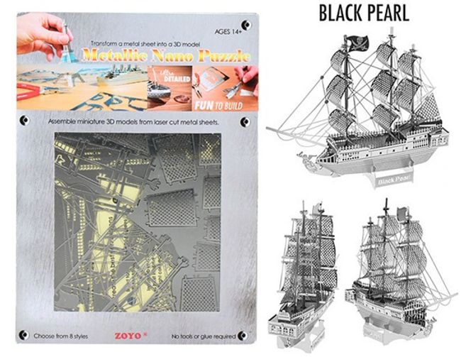 3D puzzle - koráb 1