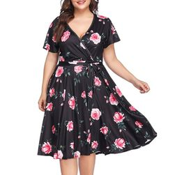 Damska sukienka plus size Pauliey