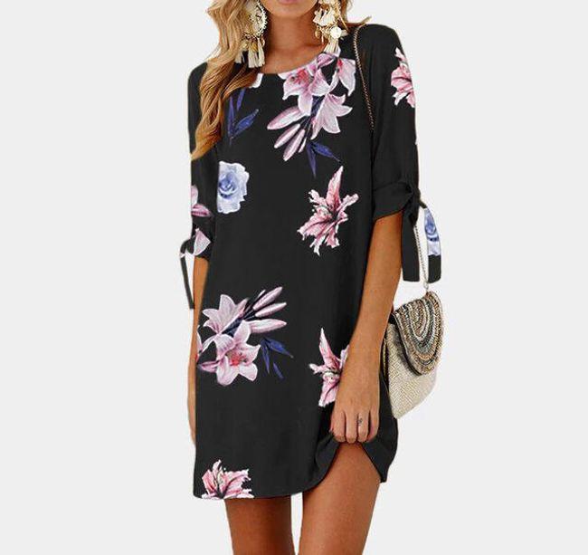 Dámské šaty Selina v plus size velikostech - 9-XL/2XL 1