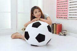 Plüss futball-labda két méretben
