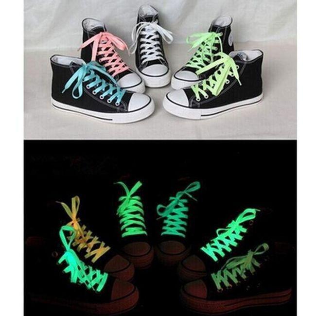 Fluorescentne vezalke v več barvah - 100 cm 1