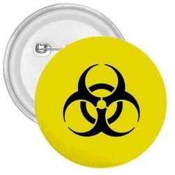Plakietka Biohazard