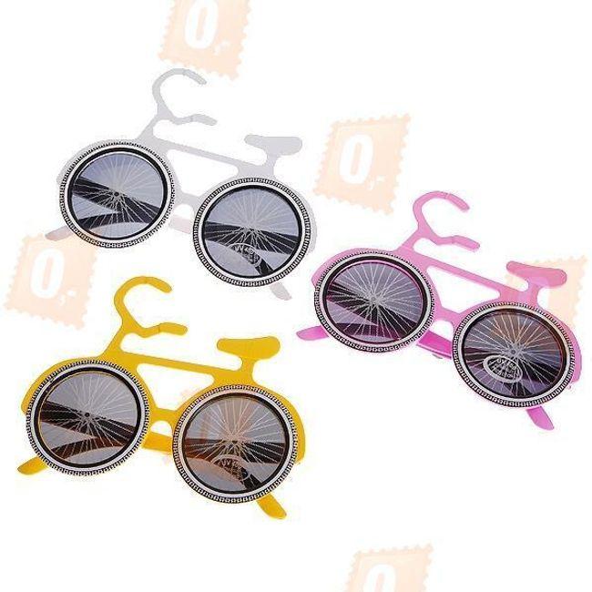Zábavné brýle ve tvaru kola 1