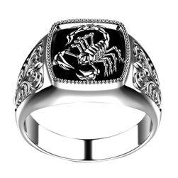Erkek yüzüğü Scorpion